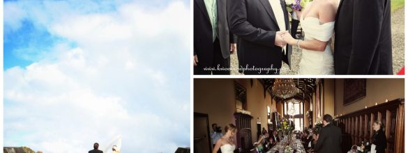 Jennifer & John's Celtic Castle Wedding