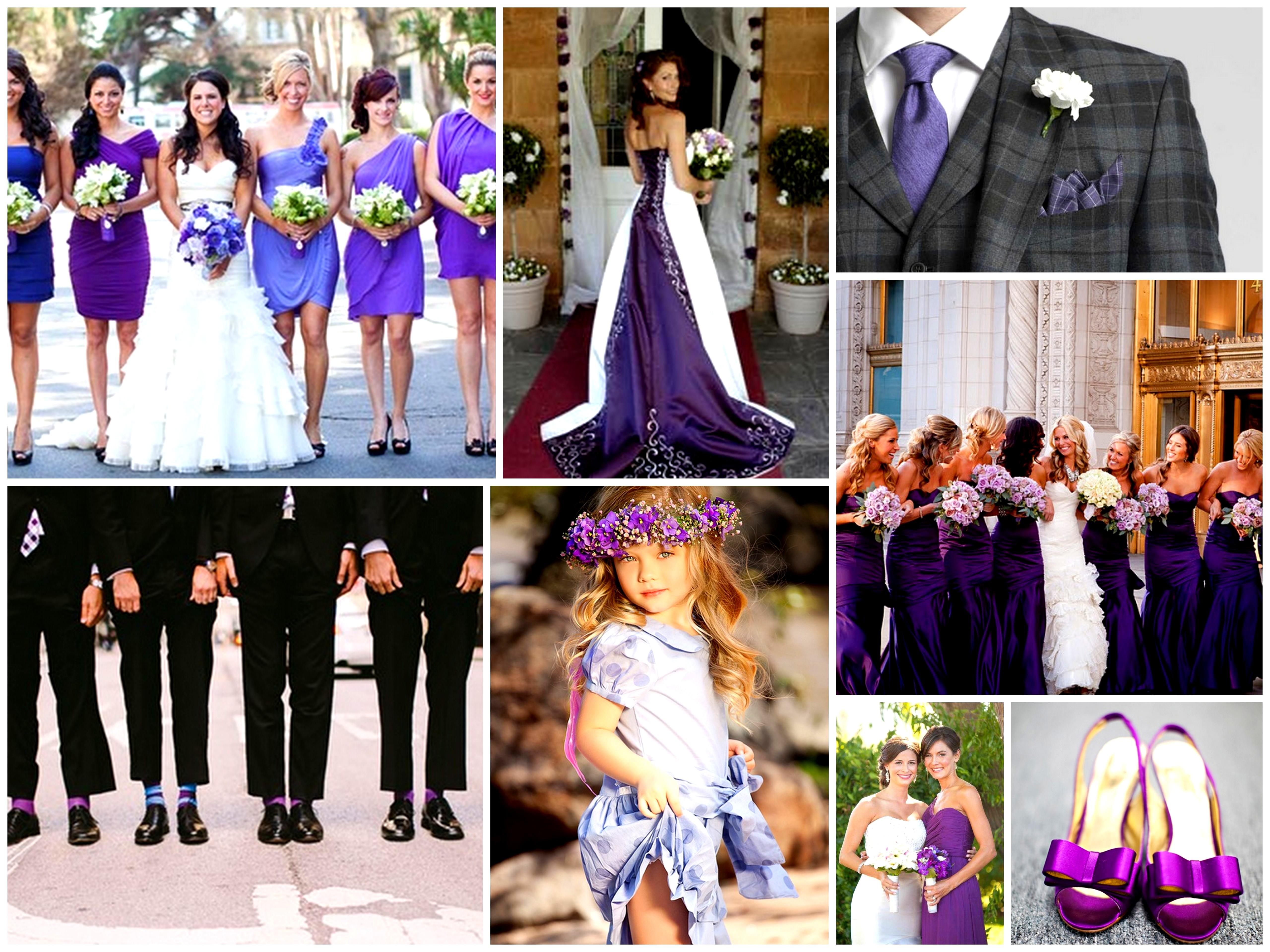 Purple Wedding Ideas Dream Irish Wedding