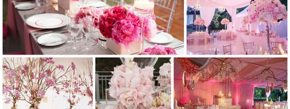 So Romantic Pink Theme for Your Wedding