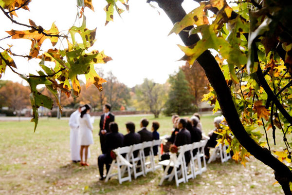 Country Rustic Intimate Outdoor Wedding Reception Ideas For Fall