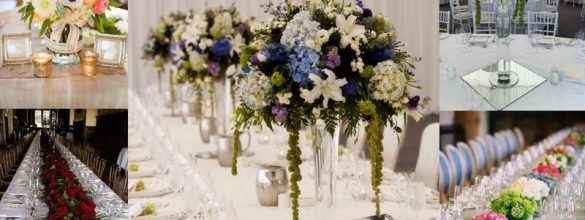 Our Top 7 Ways To Include Flowers In Your Wedding Decor