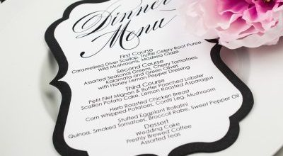Top Tips On Choosing A Wonderful Wedding Day Menu