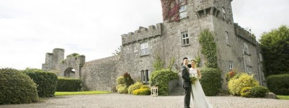 An Intimate Wedding Was Celebrated In A Castle