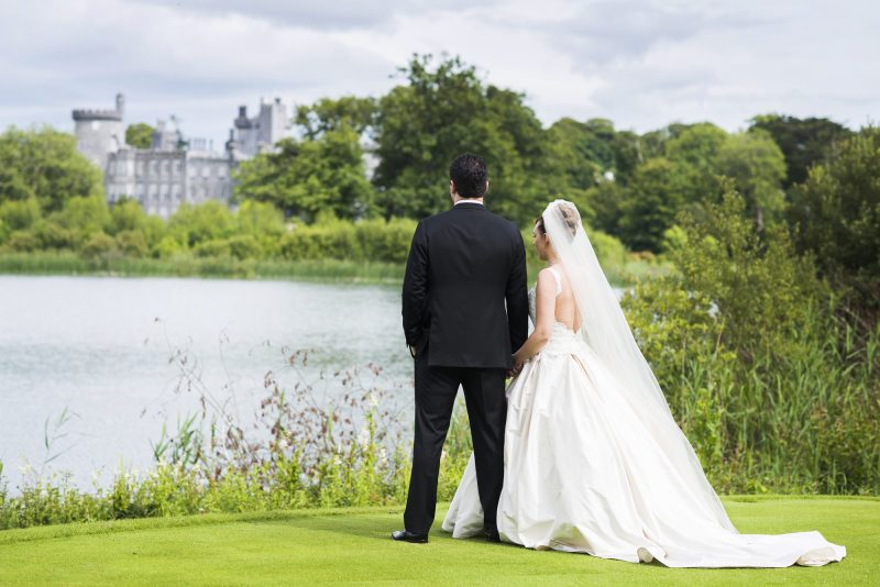 Wedding Planner,Wedding in a Castle ,Dromoland Castle Wedding,Couture Wedding gown,Lakeside wedding
