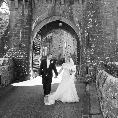 Wedding Couple at Ashford Castle
