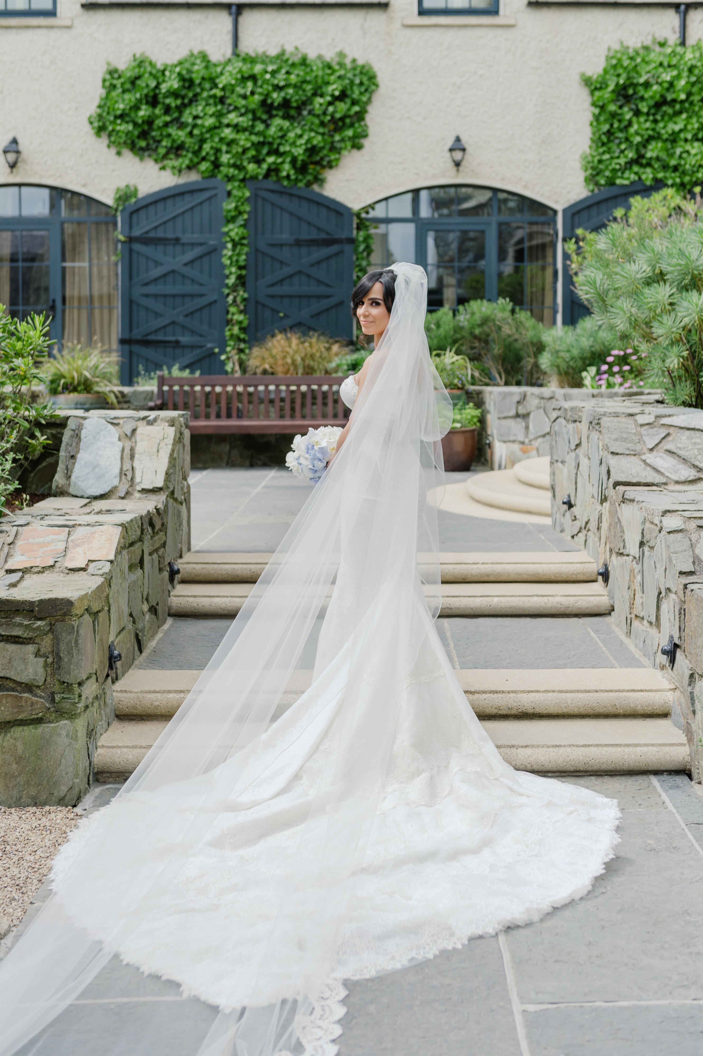 bride,couture gown, Trump Doonbeg,Ireland