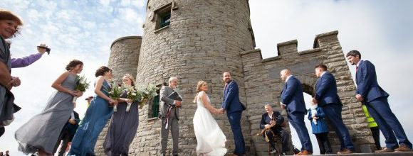 College Friends Who Tied The Knot At The Stunning Cliffs Of Moher