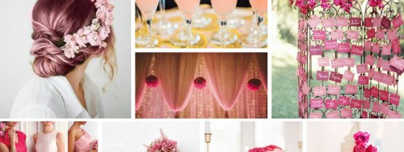 Pink Inspiration For Your Wedding