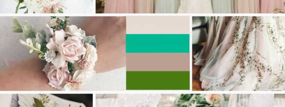 Dusty Pink & Green Inspiration For Your Wedding