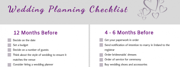 Just Engaged What To Do? Your Ultimate Wedding Checklist