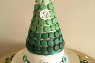 One of the big cake trends we are seeing for 2013 is the Macaroons Cake ….