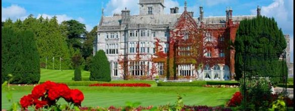 Our Beautiful Celtic Castle Wedding at Adare Manor hotel