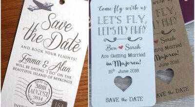 Save The Date Ideas For Your Big Day