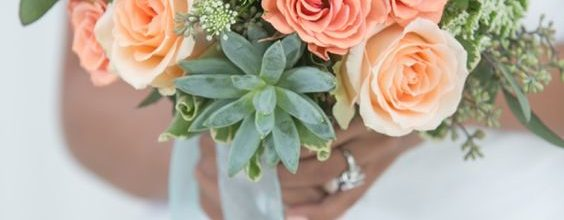 Green & Peach Colour Palette For Your Wedding In Ireland
