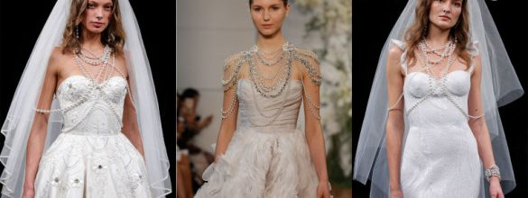 Beautiful Trends From Bridal Fashion Week New York 2017
