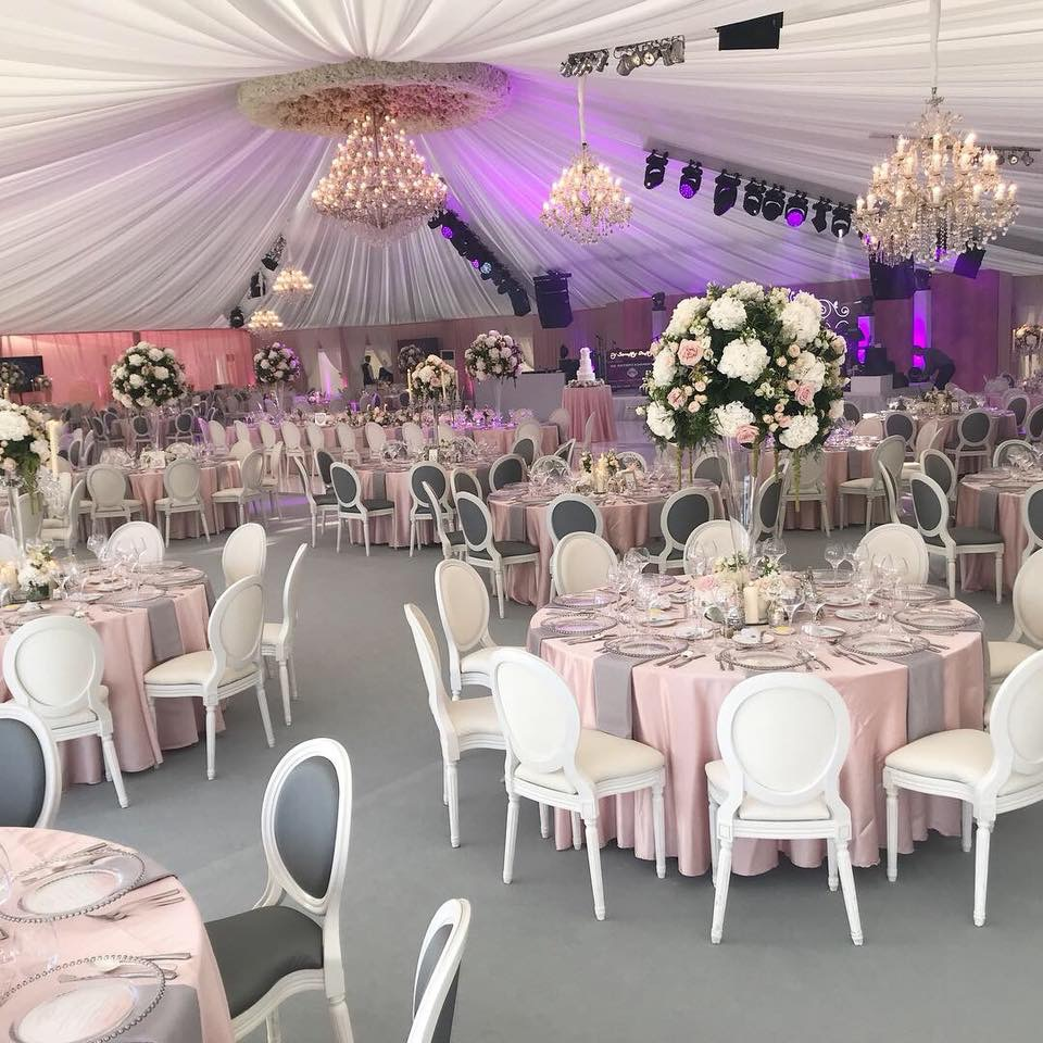 Luxury Marquee Wedding, Blush Pink,Grey & White Wedding Colour Palette,Wedding Stylist