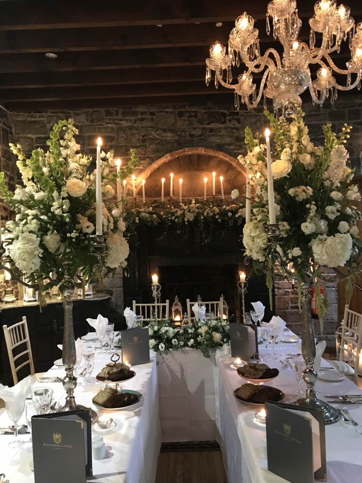 Kerry Wedding Planner,Wedding Stylist, Wedding flowers,Wedding Decor,Candlelight