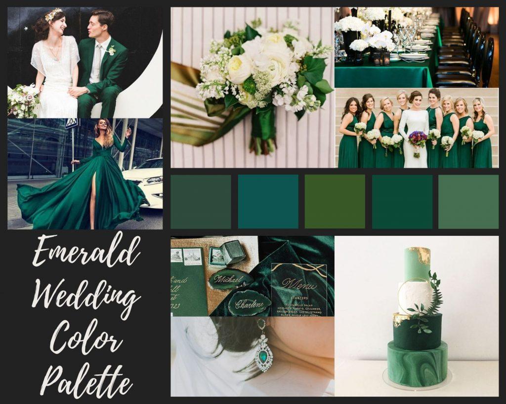 Emerald Mood Board