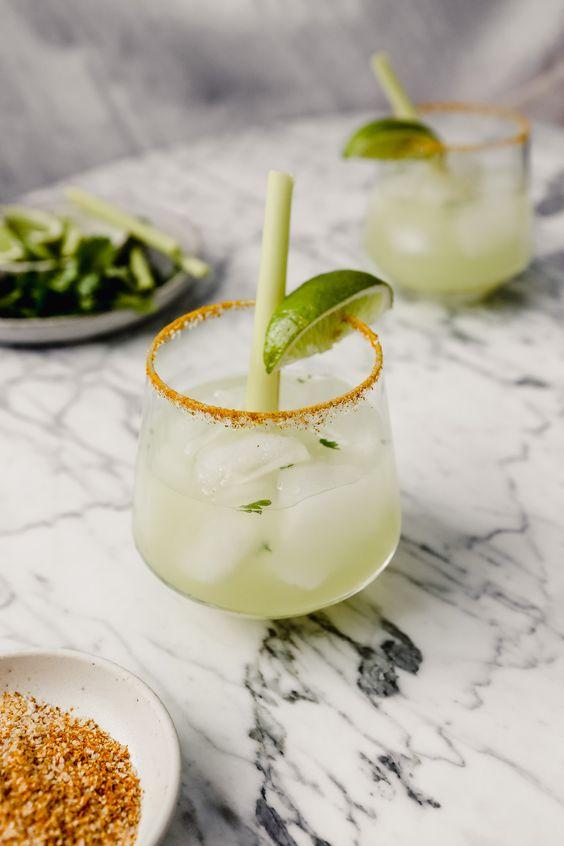 Thai Lemongrass Margarita