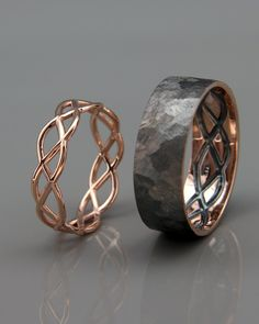 Ring with celtic symbols