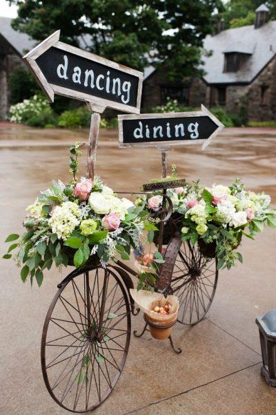 Old Bike Sign