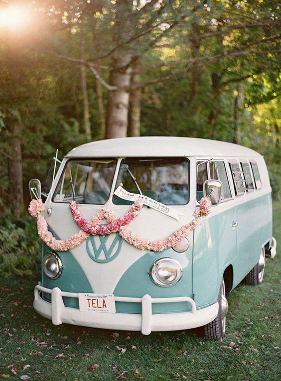 VW Beetle Van - Vintage Wedding Car