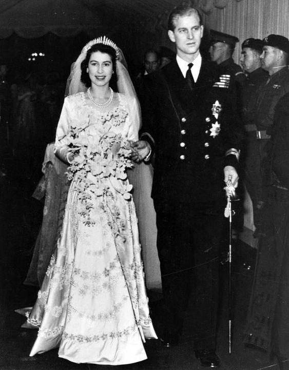 Queen Elizabeth II & Prince Phillip (1947)
