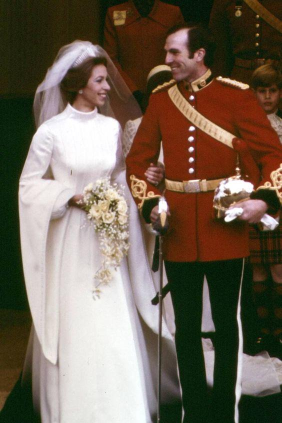Princess Anne & Captain Mark Phillips (1973)