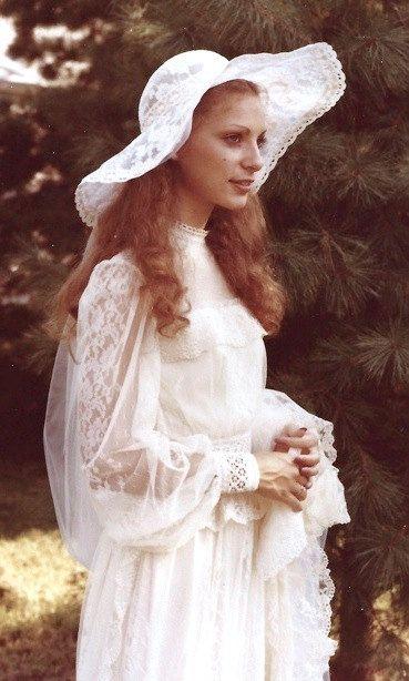 1970s Wedding Dress