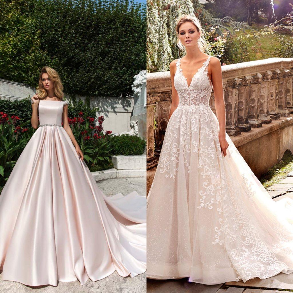 Wona concept ball gown wedding dress, Kleinfeld A-line wedding dress